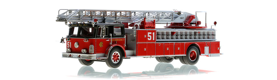 Chicago Truck 51 scale model