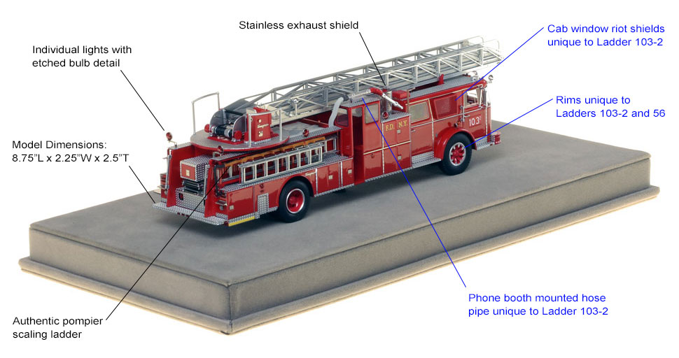 Features and specs of Brooklyn's Ladder 103-TWO