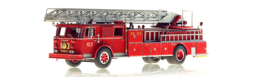 1:50 scale FDNY Ladder 103-TWO model