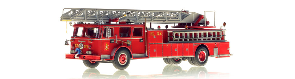 1:50 scale FDNY 1974 Seagrave Ladder 2 model