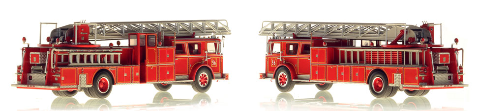 FDNY 1974 Ladder 56 scale model