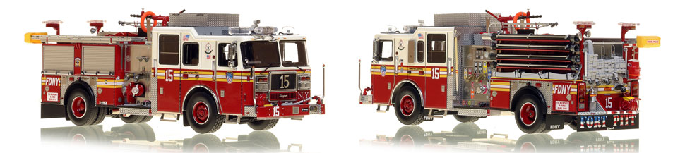 Manhattan's FDNY Engine 15 is a museum grade scale model