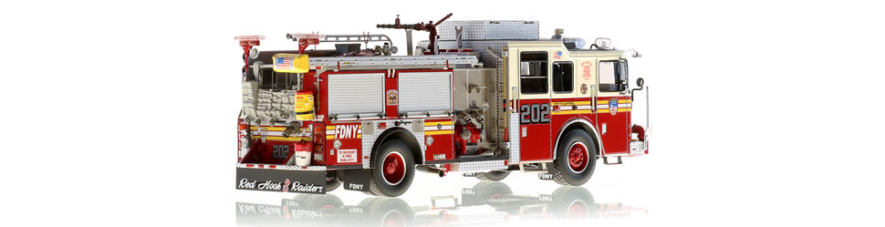 Production of FDNY Engine 202 is limited to 100 units.