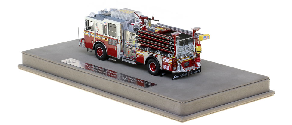 FDNY Engine 202 features many unique details