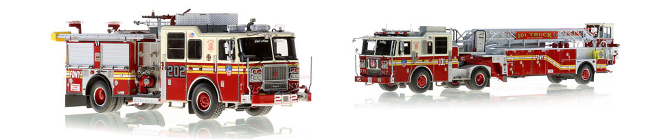 Brooklyn's Engine 202...station-mate to Ladder 101