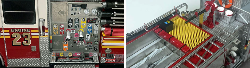 FDNY Seagrave Engine 23 close up pictures 3-4