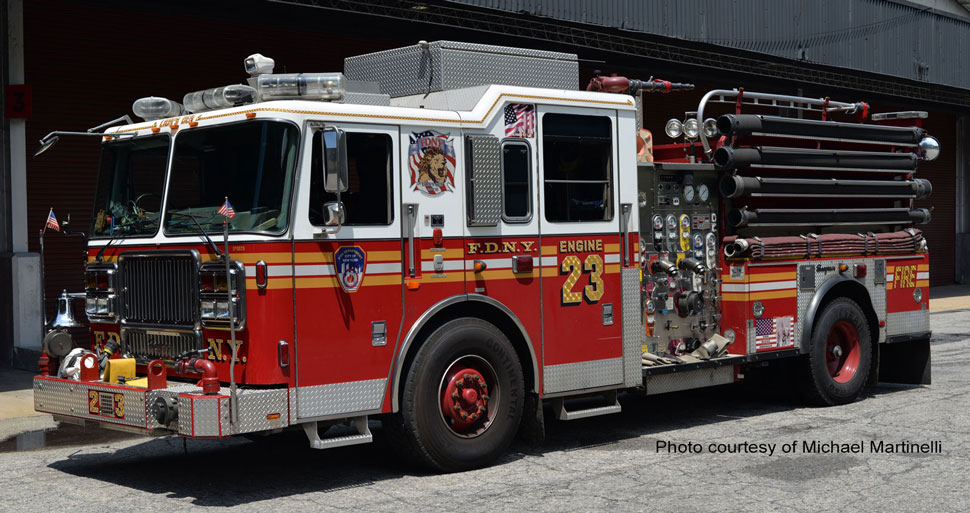 FDNY Engine 23 courtesy of Michael Martinelli