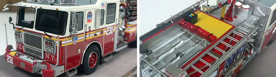 FDNY Seagrave Engine 231 close up pictures 7-8