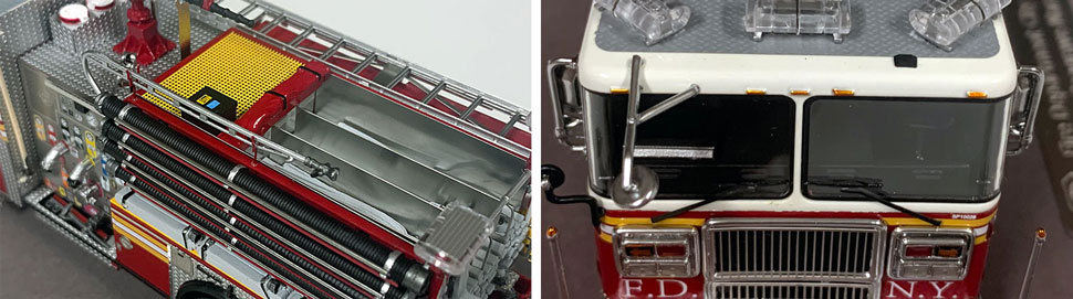 FDNY Seagrave Engine 231 close up pictures 9-10