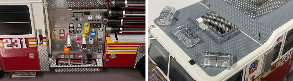 FDNY Seagrave Engine 231 close up pictures 11-12
