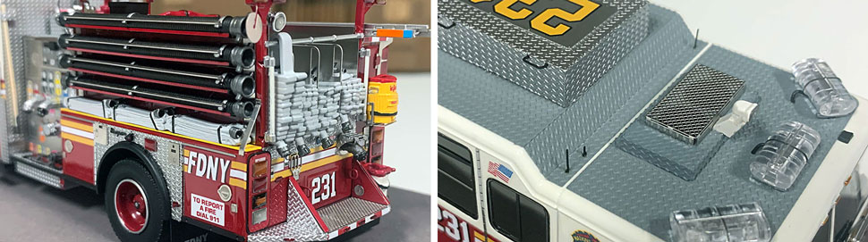FDNY Seagrave Engine 231 close up pictures 13-14