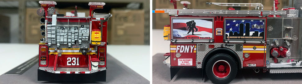 FDNY Seagrave Engine 231 close up pictures 3-4
