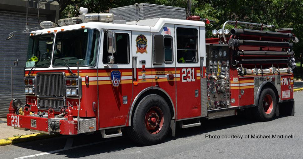 FDNY Engine 231 courtesy of Michael Martinelli