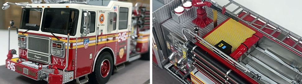 FDNY Seagrave Engine 245 close up pictures 5-6