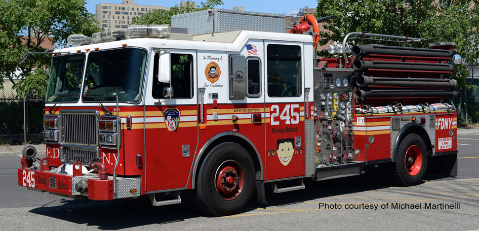 FDNY Engine 245 courtesy of Michael Martinelli