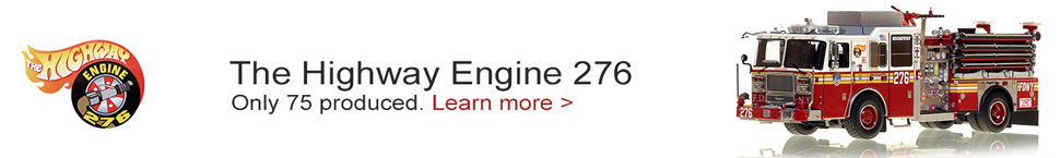 Order your FDNY Seagrave Engine 276 today!