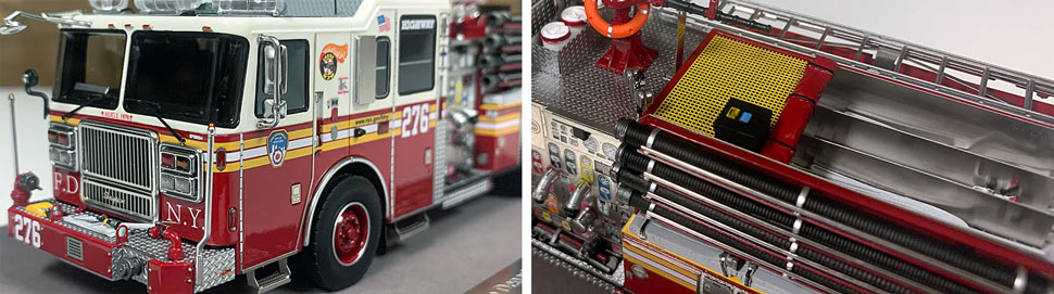 FDNY Seagrave Engine 276 close up pictures 7-8