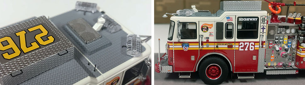 FDNY Seagrave Engine 276 close up pictures 3-4