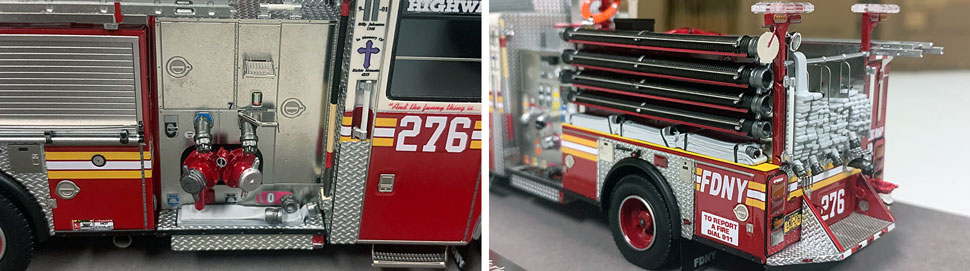 FDNY Seagrave Engine 276 close up pictures 11-12