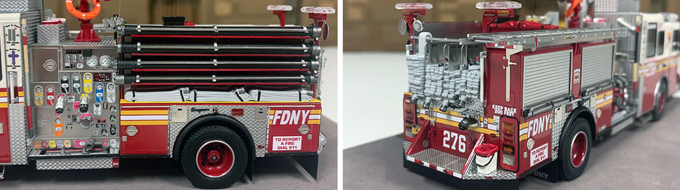 FDNY Seagrave Engine 276 close up pictures 5-6