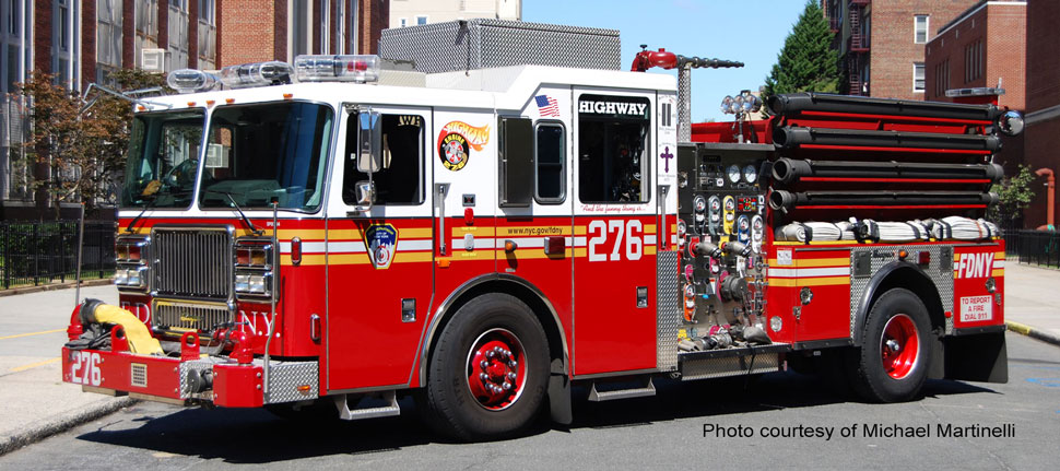FDNY Engine 276 courtesy of Michael Martinelli