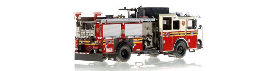 Production of FDNY Engine 43 is limited to 100 units.