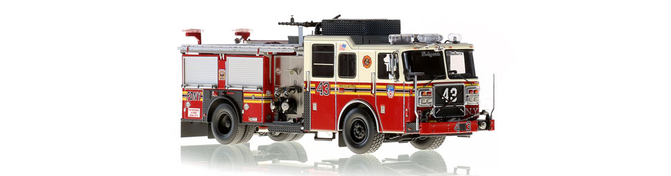 Seagrave Marauder II Engine 43 for the Sedgwick Slashers of the Bronx