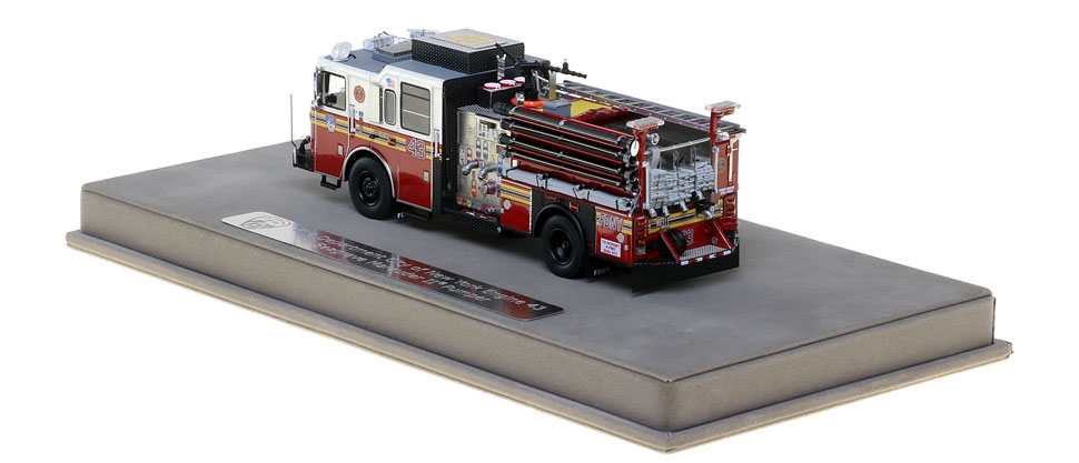 FDNY Engine 43 features many unique details