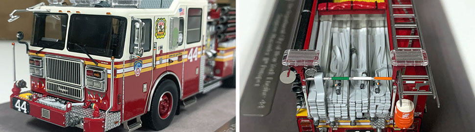 FDNY Seagrave Engine 44 close up pictures 9-10