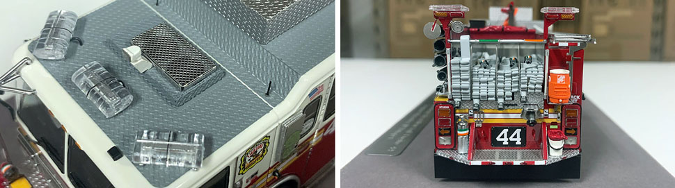 FDNY Seagrave Engine 44 close up pictures 5-6