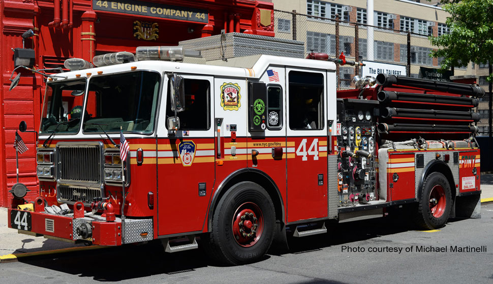 FDNY Engine 44 courtesy of Michael Martinelli
