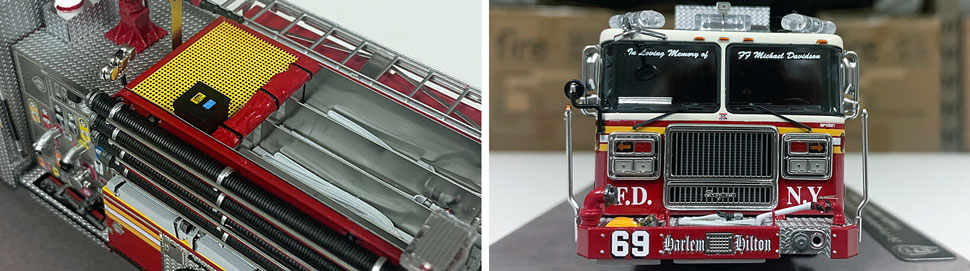 FDNY Seagrave Engine 69 close up pictures 1-2