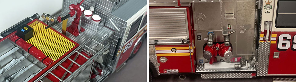 FDNY Seagrave Engine 69 close up pictures 7-8