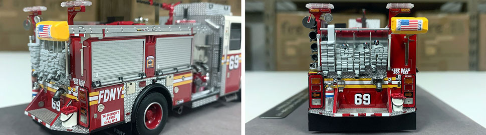 FDNY Seagrave Engine 69 close up pictures 5-6