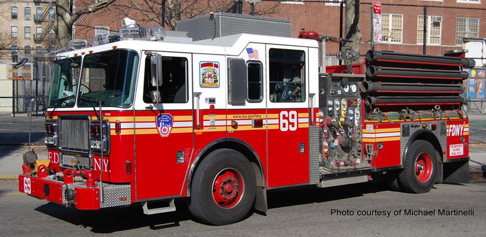 FDNY Engine 69 courtesy of Michael Martinelli