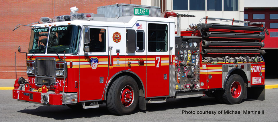 FDNY Engine 7 courtesy of Michael Martinelli