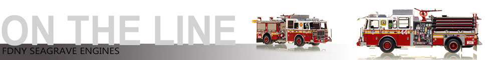 FDNY Seagrave Engine scale model assembly pictures