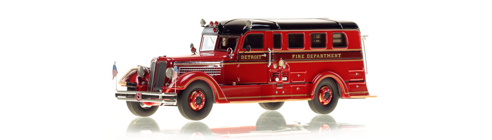Detroit's Safety Sedan Memorial Rig scale model is museum grade