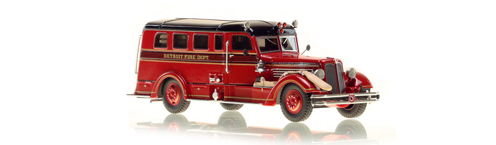 Detroit's Safety Sedan In Service Edition scale model is museum grade