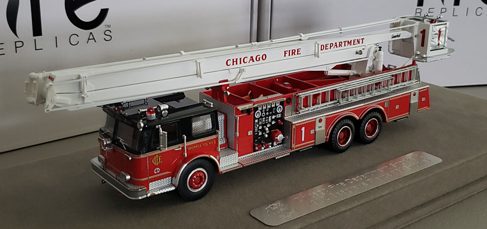 Pre-production prototype of 1:50 scale Chicago Snorkel 1