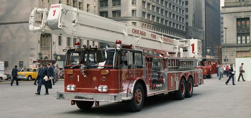 Chicago's 1982 Snorkel 1 when brand new