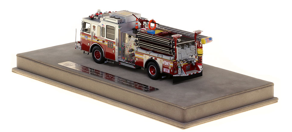 FDNY Engine 10 features many unique details