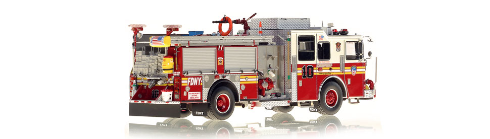 Production of FDNY Engine 10 is limited to 200 units.