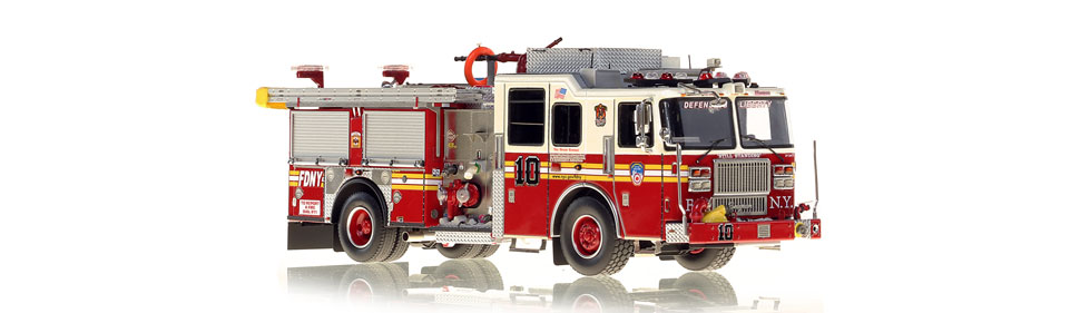 Defending Liberty...FDNY Engine 10 scale model