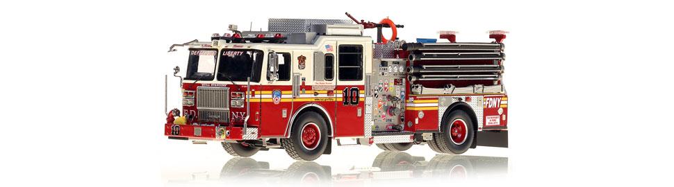 FDNY Engine 10 replica features razor sharp accuracy