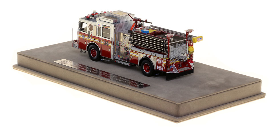 FDNY Engine 34 features authentic details