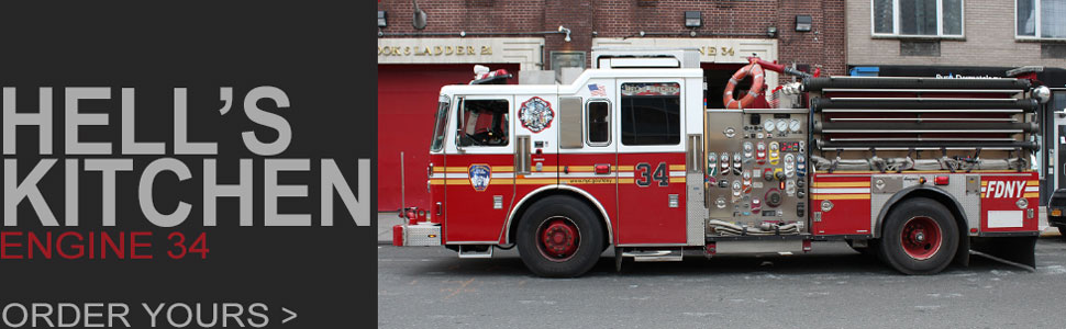 Order your FDNY Engine 34 scale model today!