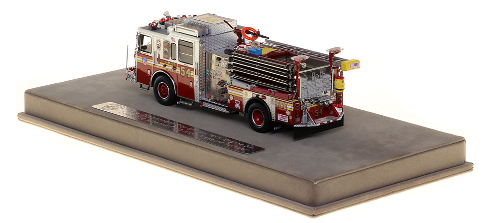 FDNY Engine 54 features many unique details
