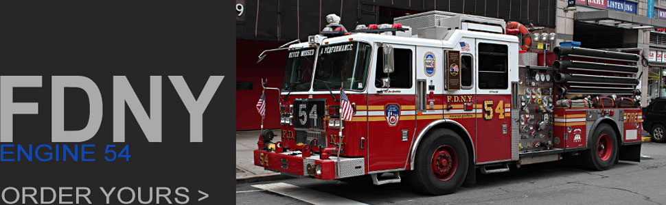 Order your FDNY Engine 54 scale model!