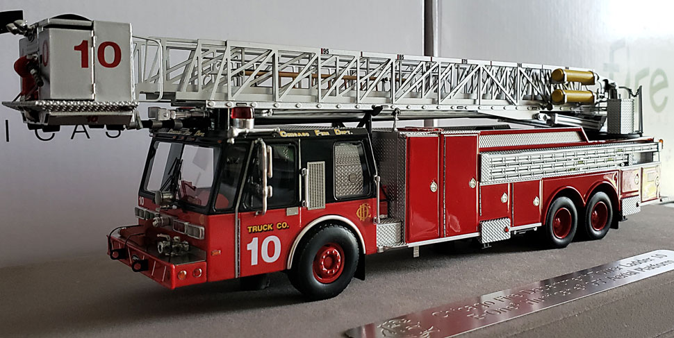 First production of Chicago E-One Hurricane Tower Ladder 10